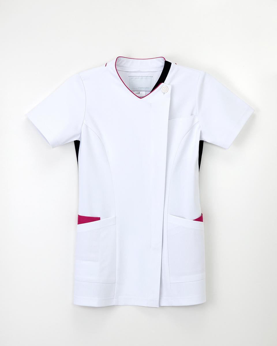 ナガイレーベン スクラブ 上衣 医療用白衣 LX-4102 白衣 レディース 現品 女性用 無料 2021年新作商品
