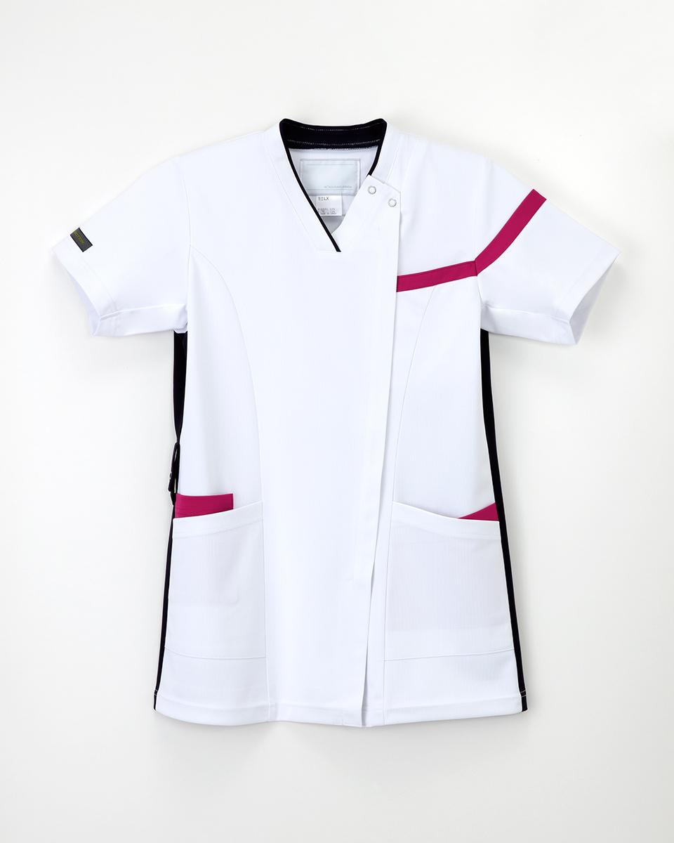 ナガイレーベン 医療用白衣 スクラブ ファッション通販 LX-4162 人気 おすすめ 男女兼用 上衣 2021新作商品 白衣