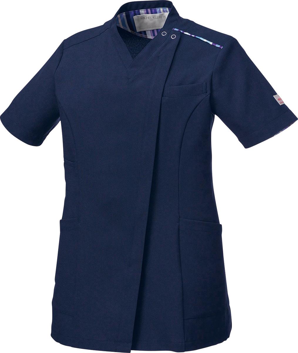 アイテム勢ぞろい ミッシェルクラン 商店 白衣 ファスナースクラブ MK-0002 女性用 レディース
