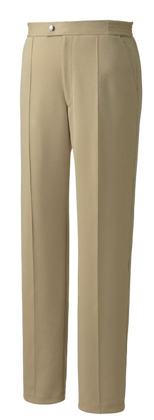 KAZEN 旧アプロン スラックス KZN612-12 流行のアイテム 休日 50 2019年新作商品 介護 パンツ メンズ 男性用