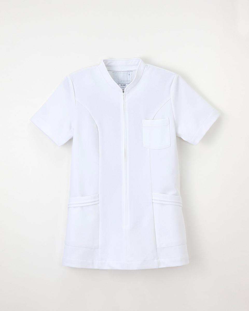 オンラインショッピング ナガイレーベンの白衣です ナガイレーベン TS-2087 卓抜 ナースウェア レディース 女性用上衣 半袖