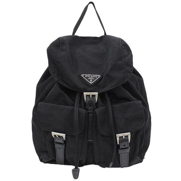 a851ec5ecbd4ed NEO-NET: (Prada) PRADA TESSUTO nylon backpack rucksack black bag ...