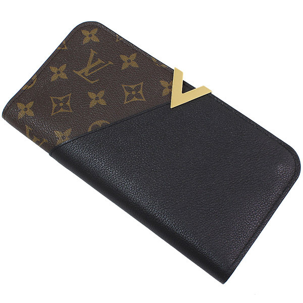 (ヴィトン)Vuitton モノグラム ポルトフォイユ キモノ 長財布 袋【中古】