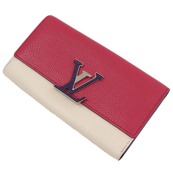 (ヴィトン)Vuitton ポルトフォイユ・カプシーヌ トリヨン 長財布 袋【中古】