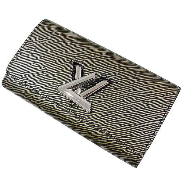 (ヴィトン)Vuitton プラティーヌ ポルトフォイユ・ツイスト 長財布 箱袋【中古】