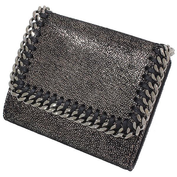 ステラマッカートニー ファラベラ コンパクト 三つ折り財布 箱【中古】