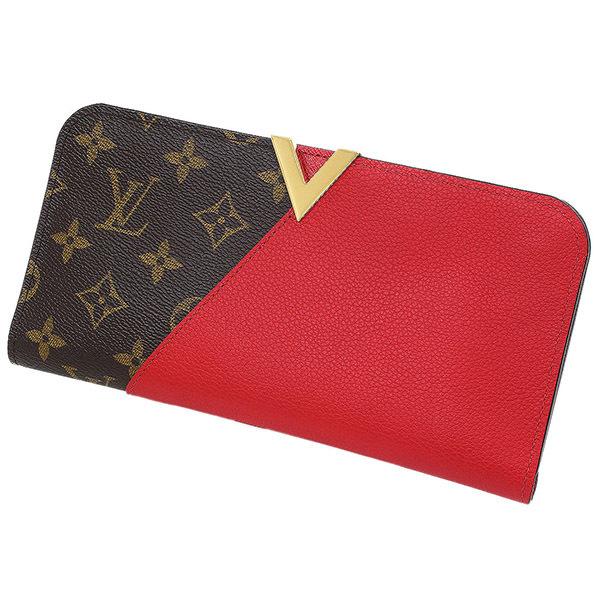 (ヴィトン)Vuitton モノグラム ポルトフォイユ キモノ 長財布 箱袋【中古】