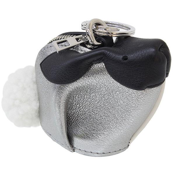 【エントリーでポイント10倍!4月28日1:59まで】(ロエベ)LOEWE ウサギ デザイン レザー コインケース 箱袋【中古】
