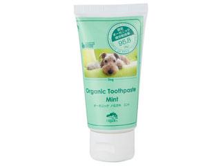 (人気激安) 安心歯磨き ギフ_包装 オーガニック成分95.8%犬用歯磨きペースト リニューアル デンタルケア タカクラ ミント 75g 新 MOODOG トゥースペースト