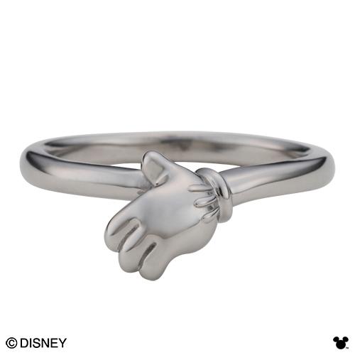 【Disney Series】ディズニー/ミッキーマウス/ハンド メンズ リング 指輪 ブラック DI009MBK 送料無料 代引き手数料無料