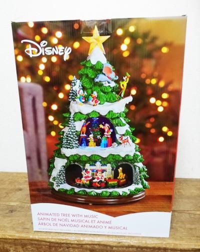 5の倍数日はカードエントリーで5倍★即納★【COSTCO】コストコ通販【DISNEY】ディズニー クリスマスツリー 高さ約45cm クリスマスソング収録