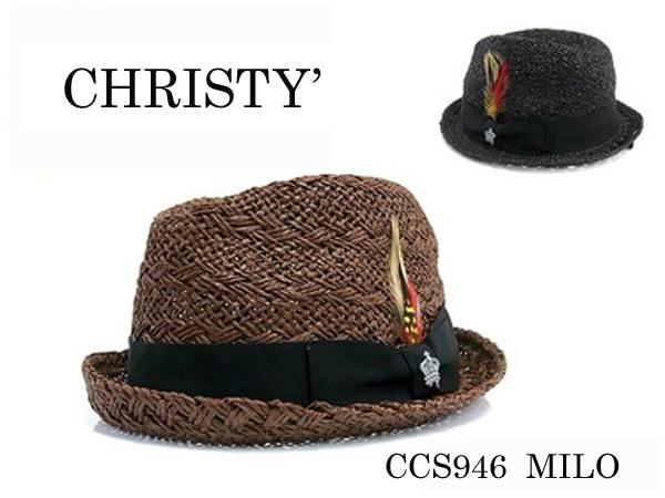 【即納】【CHRISTYS'】(クリスティーズ)ストローHAT/通販