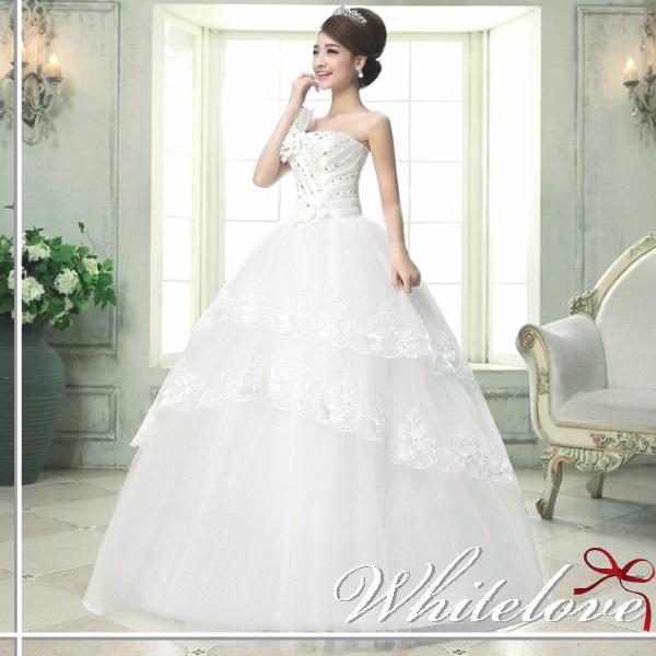 7636626fcd22e ウェディングドレス Aライン 花嫁 二次会 結婚式 披露宴 新婦 挙式 ドレス ロングドレス ウエディングドレス