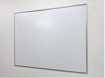 【枠付きスチールホワイトボード】900x900mm