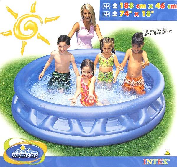 Manufactured by INTEX swimming pool ソフトサイド 188 cm 58431 (188 cm x 46 cm)