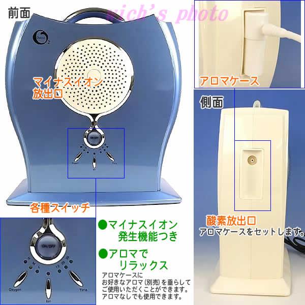 氧濃縮器Doctor O2(博士O二)WB-1300(藍色)