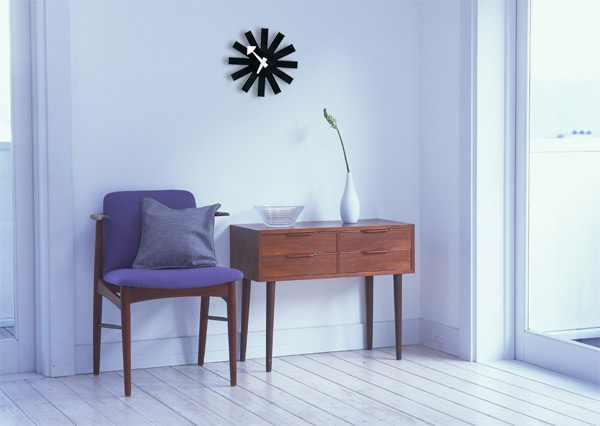 Elegant George Nelson アスタリスクク Lock. Wall Clock [CW 07] George Nelson Home Design Ideas