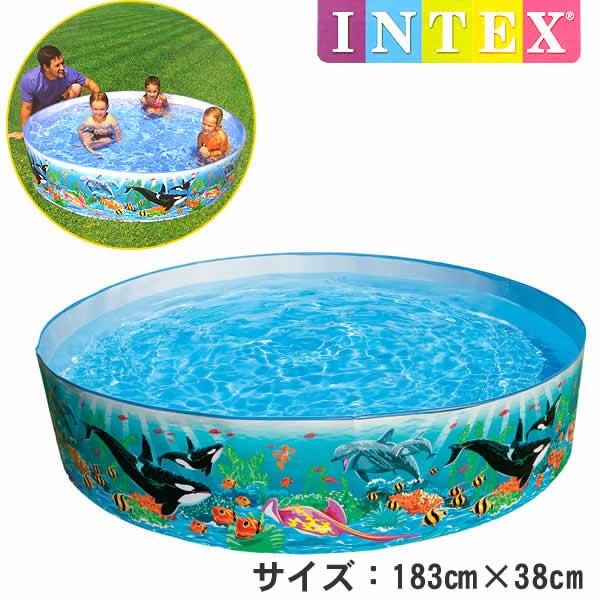 58461 oceanleafsnap manufactured by intex pools 183 cm x 38 cm - Intex Pools
