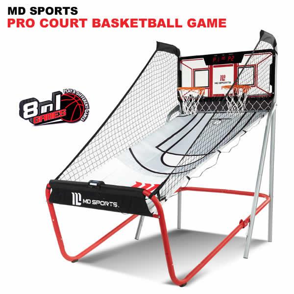 【送料無料】MD SPORTS PRO COURT BASKETBALL GAME バスケットアーケードゲーム