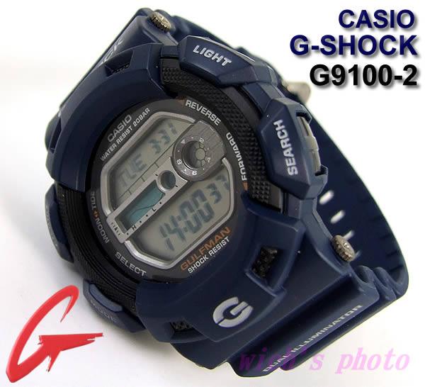 凱西歐 G-休克/GULFMAN 手錶 (G9100-2)