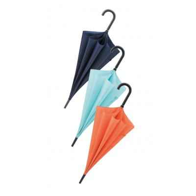 シンプルカラージャンプ傘 1本(@339円税別 60本単位 メーカー直送品 代引き不可・時間指定不可)