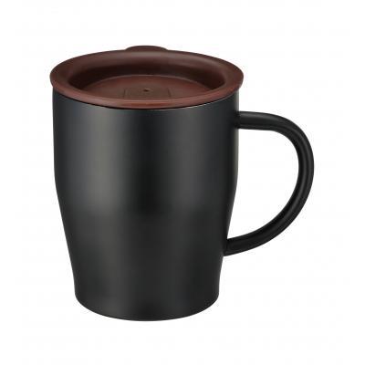 真空ステンレスマグカップ(ブラック)(@449円税別 72個単位 メーカー直送品 代引き不可・時間指定不可)