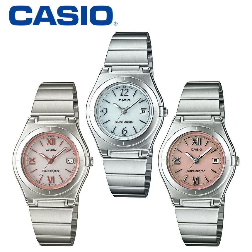 カシオ 腕時計 レディース ソーラー電波時計 電波ソーラー腕時計 CASIO ギフト プレゼント かわいい LWQ-10DJ-4A1JF LWQ-10DJ-7A1JF wave ceptor 女性用 レディースウォッチ ピンク おしゃれ 可愛い カワイイ