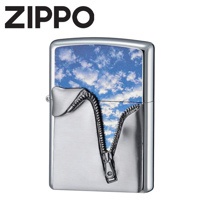 【送料無料】 ZIPPO ジッパーメタル ジッポ zippoライター ジッポー ライター おもしろ オイル ジッパーメタル スカイ クリップ チャンバー 父の日デー 父の日 プレゼント メンズ 人気 おしゃれ たばこ タバコ らいたー ギフト ラッピング P01Jul16 クリスマス
