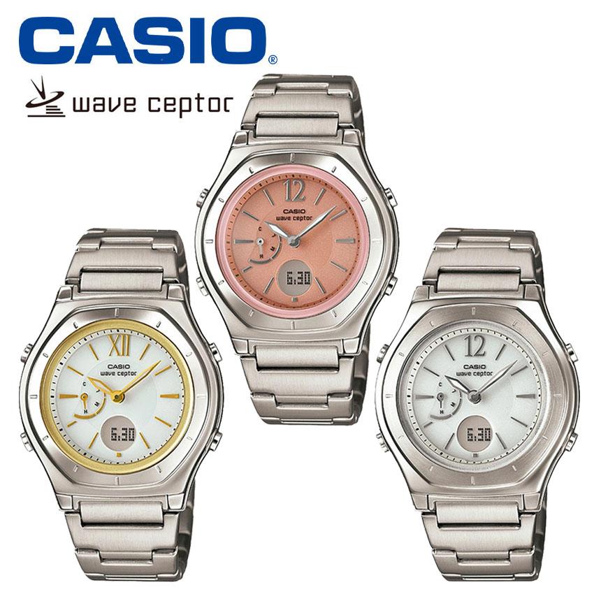 ca7a6df96a 楽天市場】【送料無料】 カシオ 腕時計 レディース 電波 ソーラー ...