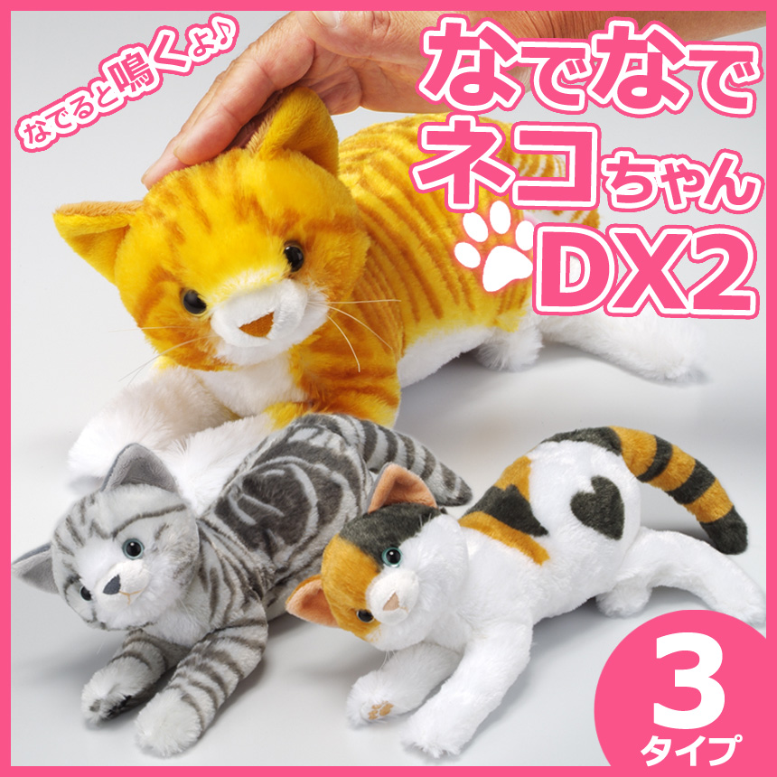 Wide02 Kitty Kitty Chan Dx Two Set Cat Stuffed Animal Real Cat