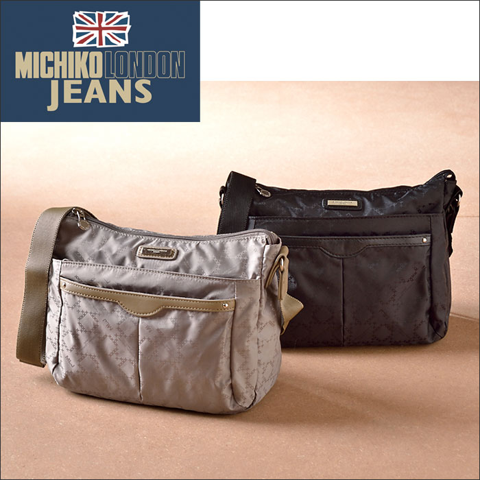 Michiko倫敦包Michiko倫敦牛仔褲提花機卧式挎包挎包女子Michiko倫敦·牛仔褲生活的幸班次05P03Dec16