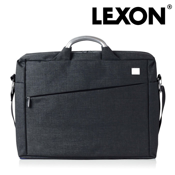送料無料 LEXON キュメントバッグ LN327WN レクソン かばん バッグ メンズ 男性用 男 紳士 パソコン ノートパソコン フランス 仏 デザイナーズ 軽い 収納 保証 仕分け 間仕切り 黒 ブラック ビジネス 出張 仕事用