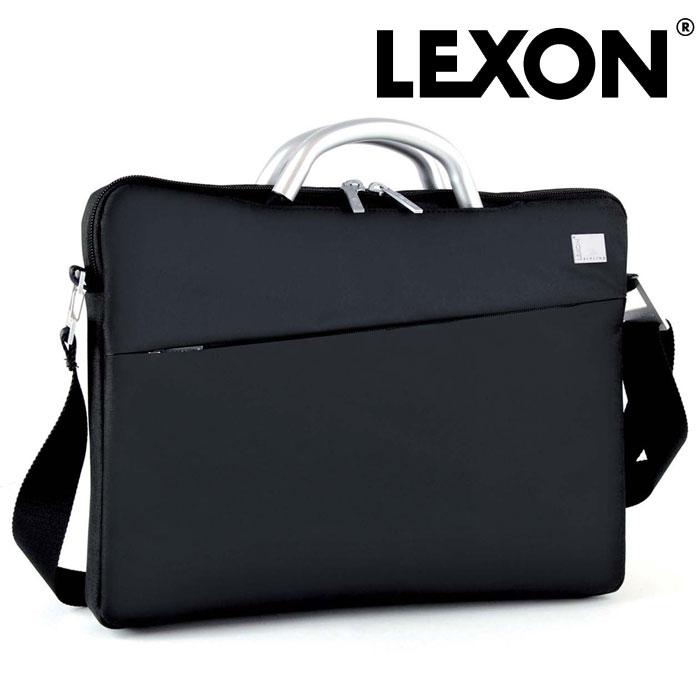 【送料無料】LEXON インナーラップトップバッグ LN362N レクソン かばん バッグ メンズ 男性用 男 紳士 パソコン ノートパソコン フランス 仏 デザイナーズ 軽い 収納 保証 仕分け 間仕切り 黒 ブラック ビジネス 出張 仕事用