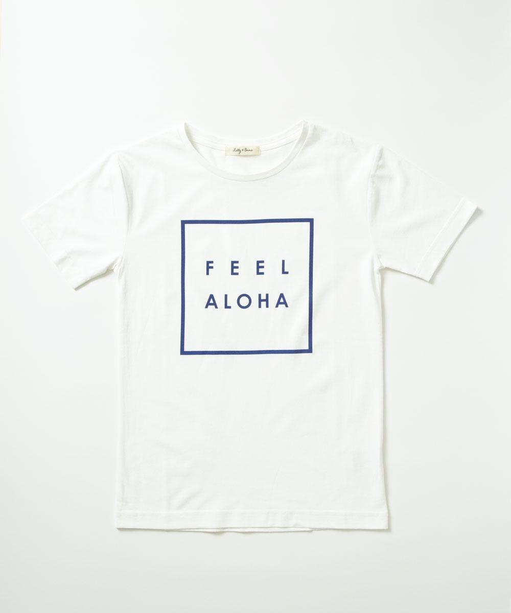 【公式】【送料無料】【UNISEX】FEEL ALOHA Tシャツ<NOAH Series> Lilly&Emma リリー&エマ リリエマ リリーアンドエマ ハワイ アロハ