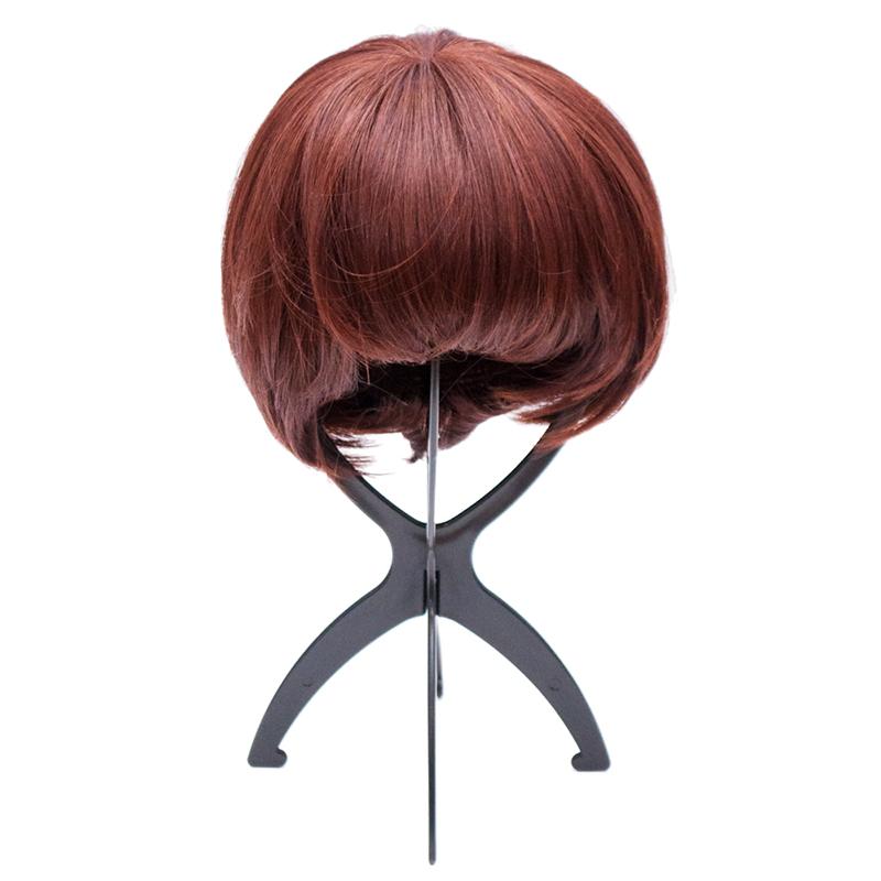 Wig stands / black / black / wig care product /MANE( Maine )/M-ST001-BLK