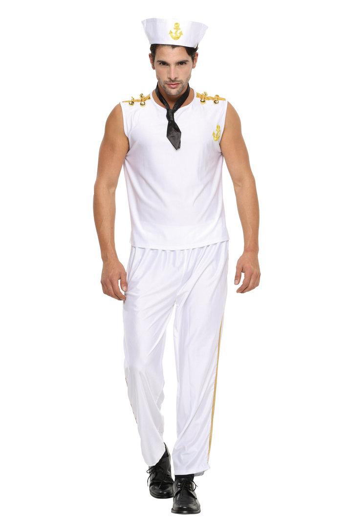 送料無料 NYW_M1402 マリン 仮装 衣装 コスプレ コスチューム 男性用 仮装 コスチューム 大人 コスプレ 衣装
