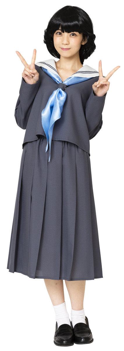 送料無料 今日のグレーセーラー レディース 仮装 コスプレ コスチューム 衣装 昭和