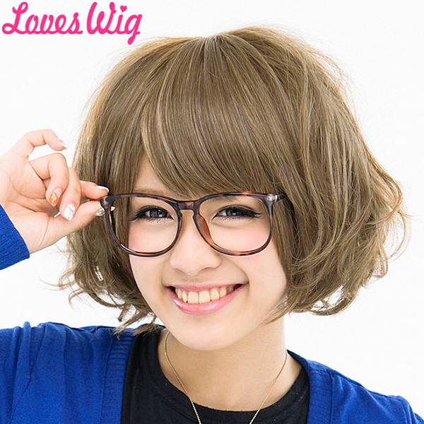 耐熱假髮/假髮 /LOVES 假髮 (loveswig) 山口蓬鬆短 Bob 假髮