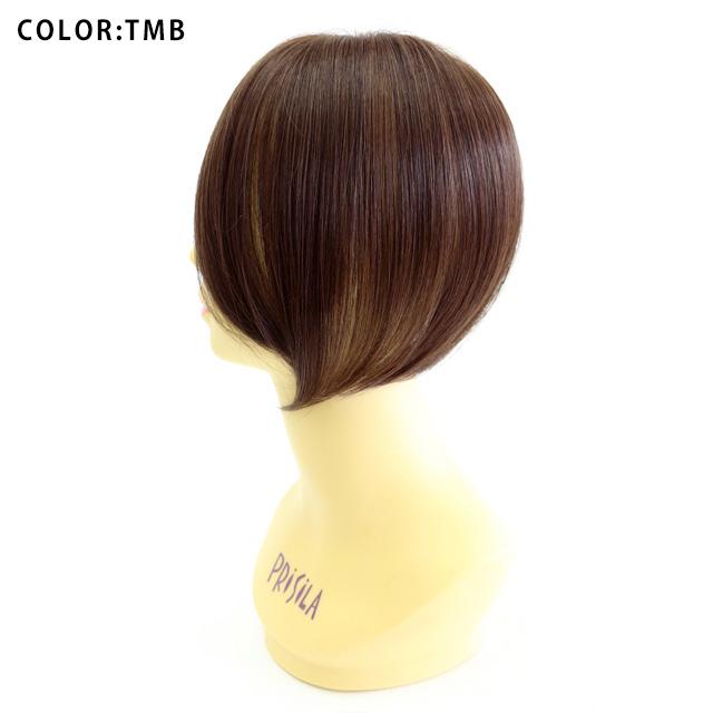 前髪ウィッグ 自然【メール便対応1個まで】ふんわり手植えつむじ付き前髪ウィッグ プリシラTFX-101 リッチレイヤードバング(TFX-07をリニューアル)つむじあり前髪ウィッグ
