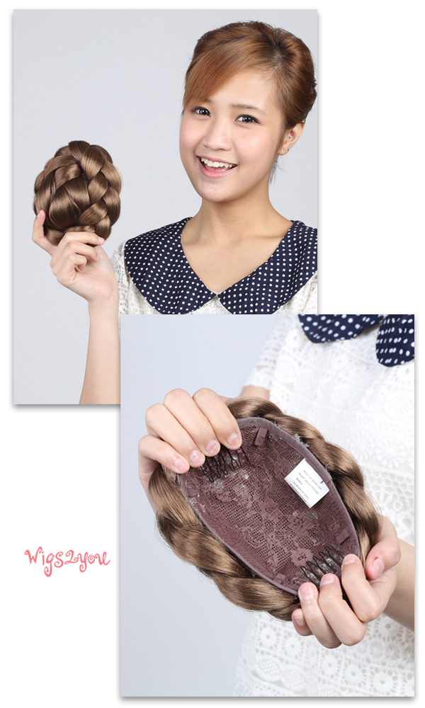 Asian style wigs