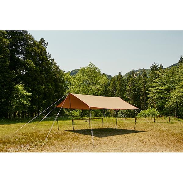 tent-Mark DESIGNS(テンマクデザイン) 焚火タープコットンレクタ【焚き火】