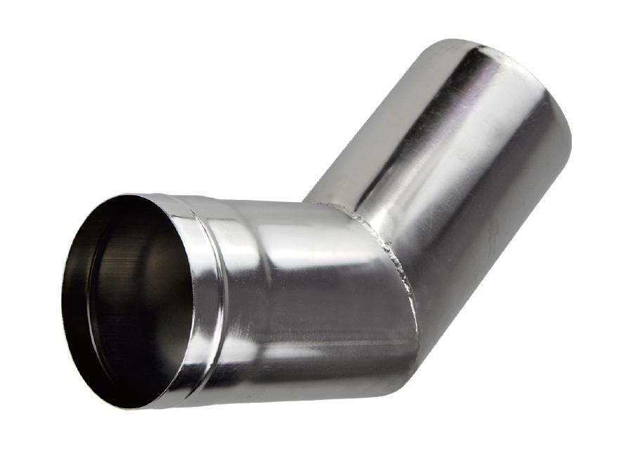 テンマクデザイン ウッドストーブ L 45°ベントパイプ 2020 新発売 用 Φ89mm