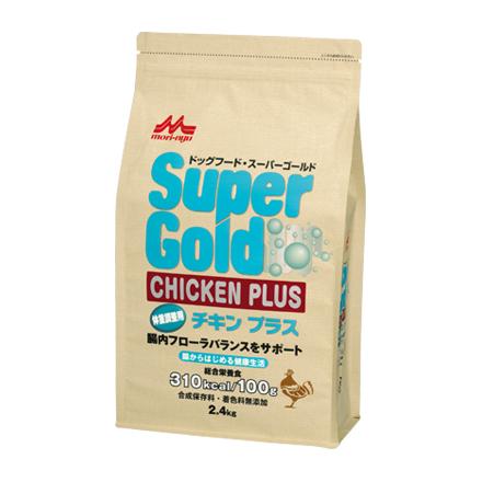 森乳 スーパーゴールド チキンプラス 犬 体重調整用 2.4kg