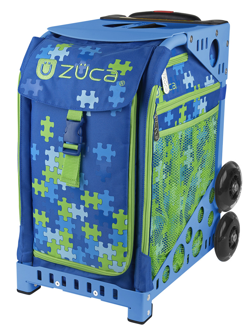 【ZUCA(ズーカ)】Sports Insert Bags Puzzle&Frame Blue