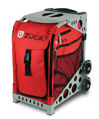 【ZUCA】ZUCA Sport Insert Bag Chili & ZUCA Sport Frame Grey