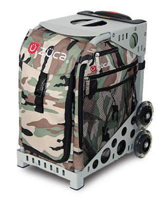 【ZUCA】ZUCA Sport Insert Bag Camo & ZUCA Sport Frame Grey