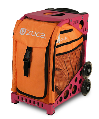 【ZUCA】ZUCA Sport Insert Bag Caution & ZUCA Sport Frame Hot Pink