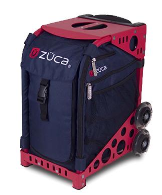 【ZUCA】ZUCA Sport Insert Bag Midnight & ZUCA Sport Frame Red