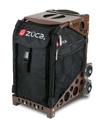 【ZUCA】ZUCA Sport Insert Bag Obsidian & ZUCA Sport Frame Brown
