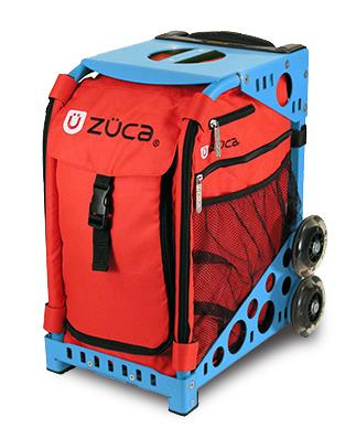 【ZUCA】ZUCA Sport Insert Bag Chili & ZUCA Sport Frame Blue